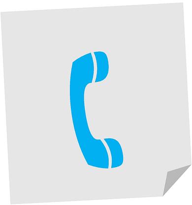 Telefon Kontakt - Anrufbeantworter