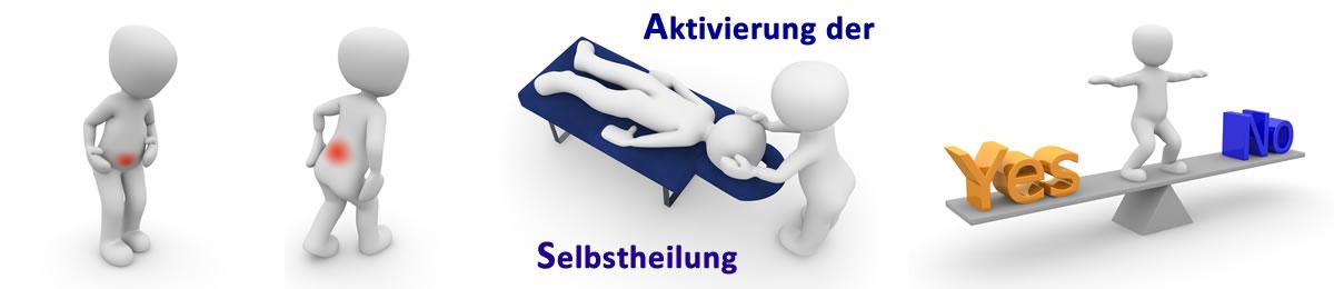 Aktivierung der Selbstheilung mit Manueller Terapie über Reflexzonen